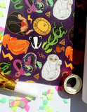 Magical Wizarding Gift Wrap | Wrapping Paper