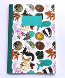 A5 Animal Menagerie Notebook