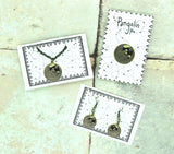 Pangolin bundle! Pin, Earrings and Necklace