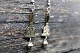 Abhorsen inspired fan Saraneth bell Earrings
