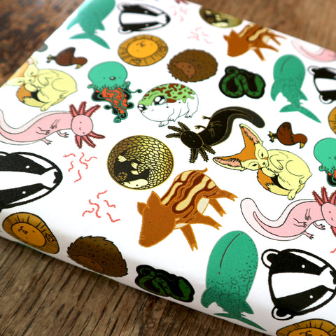 Animal Menagerie Gift Wrap | Wrapping Paper