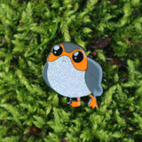 Star Wars inspired Glittery Porg fan Enamel Pin