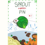 Christmas Brussels Sprout HATER Enamel Pin