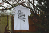 Abhorsen Trilogy/Old Kingdom inspired Screen Printed T-Shirt