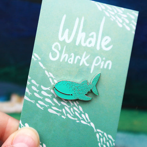 Whale Shark Enamel Pin