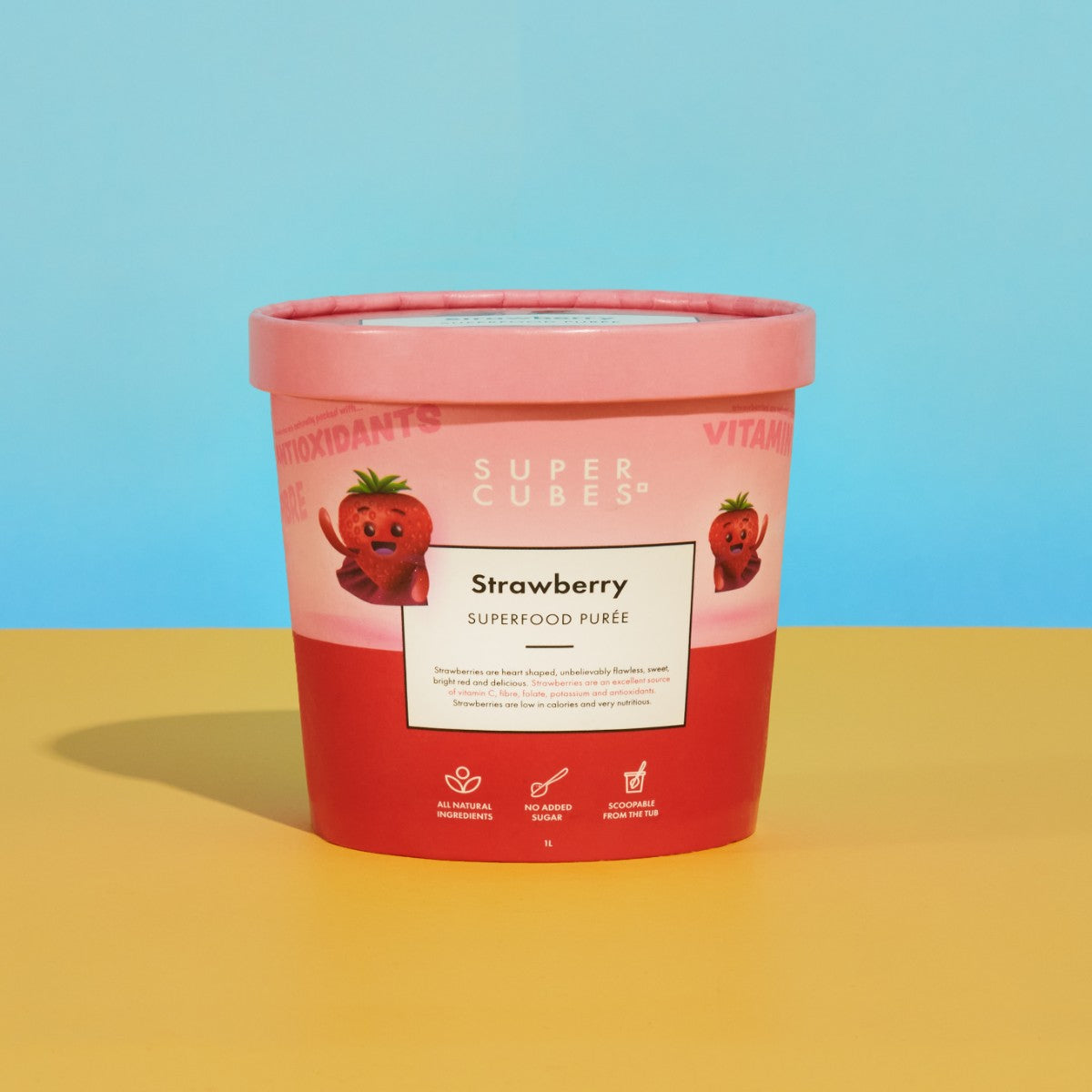 Strawberry Superfood Purée 1L