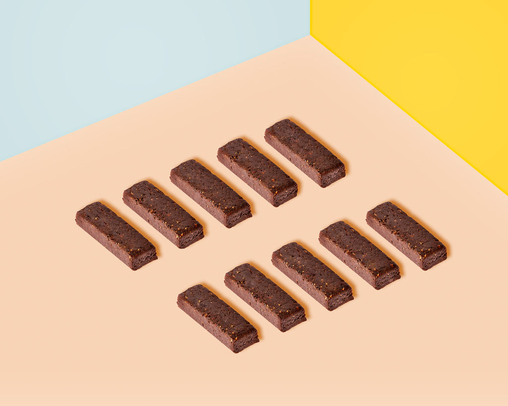 Naked Choc Banana Wholefoods Bars you can have as a convenient and healthy snack