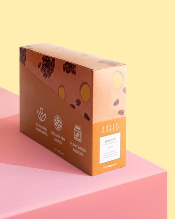 Buy a whole box of Ginger Nut Wholefoods Bars by Super Cubes