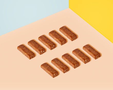 Naked Salted Caramel Wholefoods Bars by Super Cubes