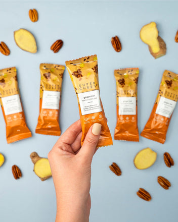 Ginger Nut Wholefoods Bars by Super Cubes are a healthy treat for anyone in your family