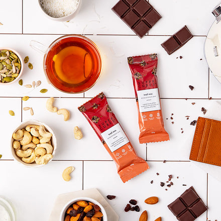 The perfect mix of ingredients for a bar, the Trail Mix Wholefoods Bars