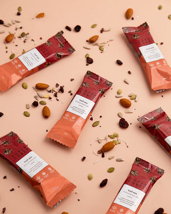 Natural Trail Mix Wholefoods Bars, healthy snack anytime of the day