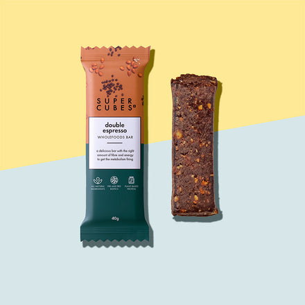 Buy Double Espresso Wholefoods Bars by Super Cubes