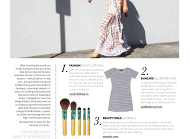 Emily's 5 Favourite Eco Finds x Peppermint Mag