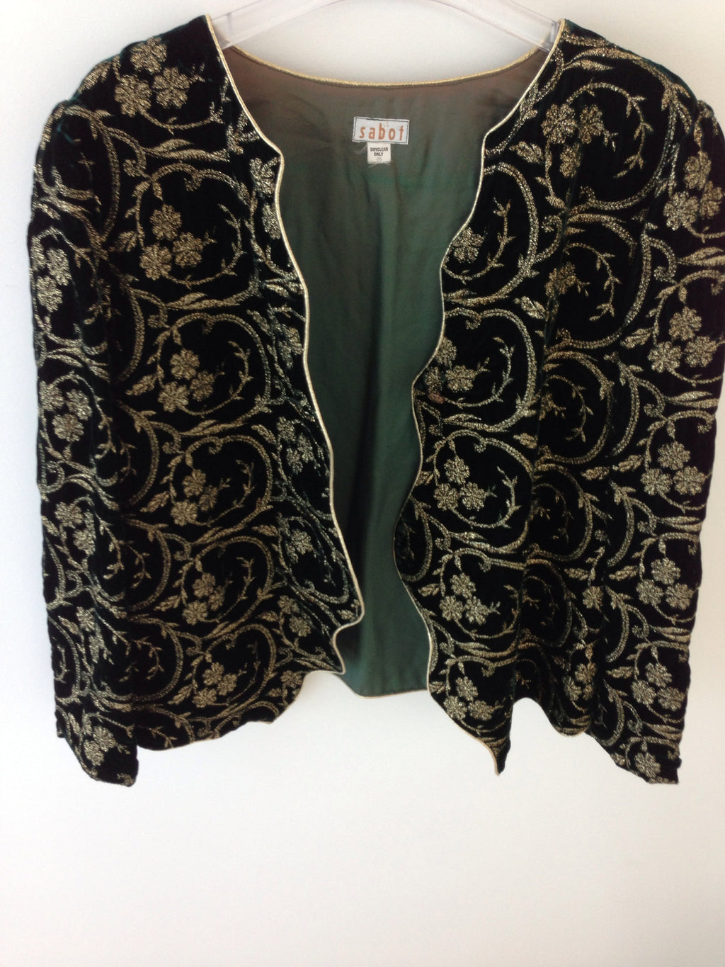 Vintage  Sasha  Embroidered Jacket