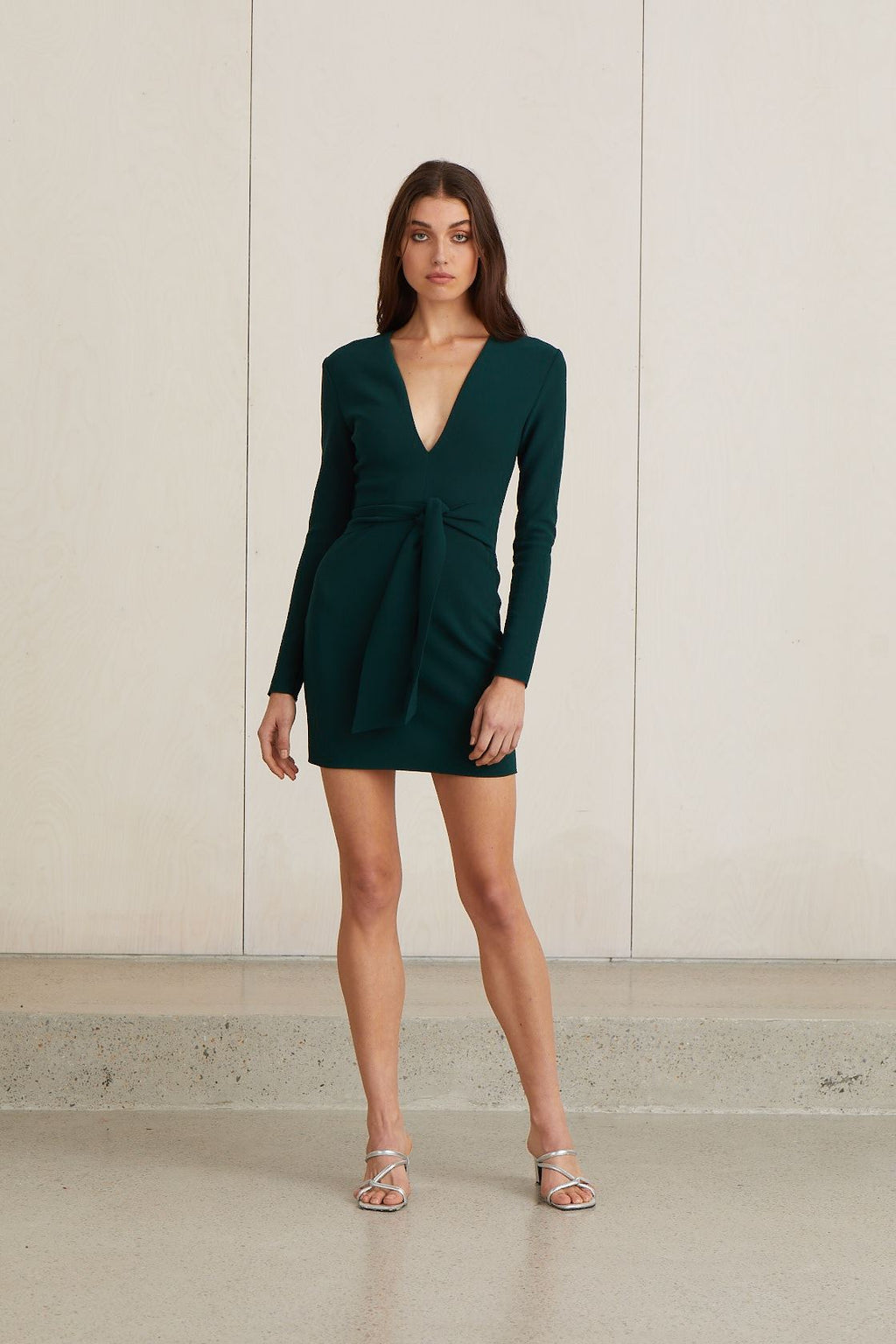 Bec & Bridge Valentine Long Sleeve Mini Dress (For Hire)
