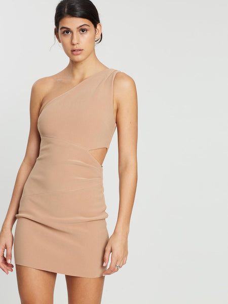 Bec & Bridge Beige Mini Dress (For Hire)