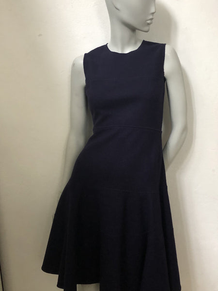 Prada Navy Wool Dress