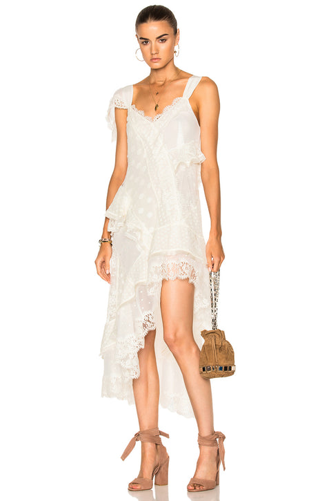 Zimmermann Bowerbird Lover's Chemise Dress (For Hire)