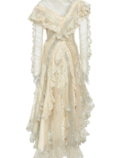 Zimmermann Sabotage Tiered Ruffle Dress (For Hire)