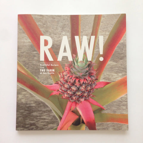The Farm Raw Recipe Book