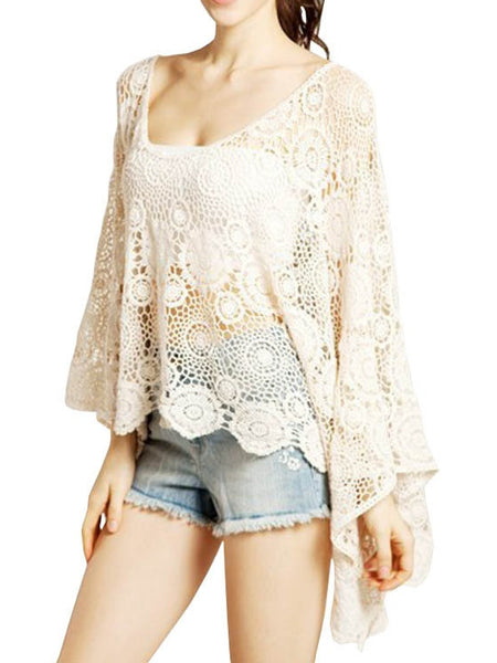 EKOLUV Handmade Crochet Circle Top