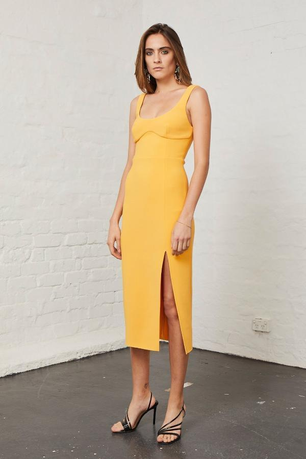 Bec & Bridge Elle Midi Dress (For Hire)