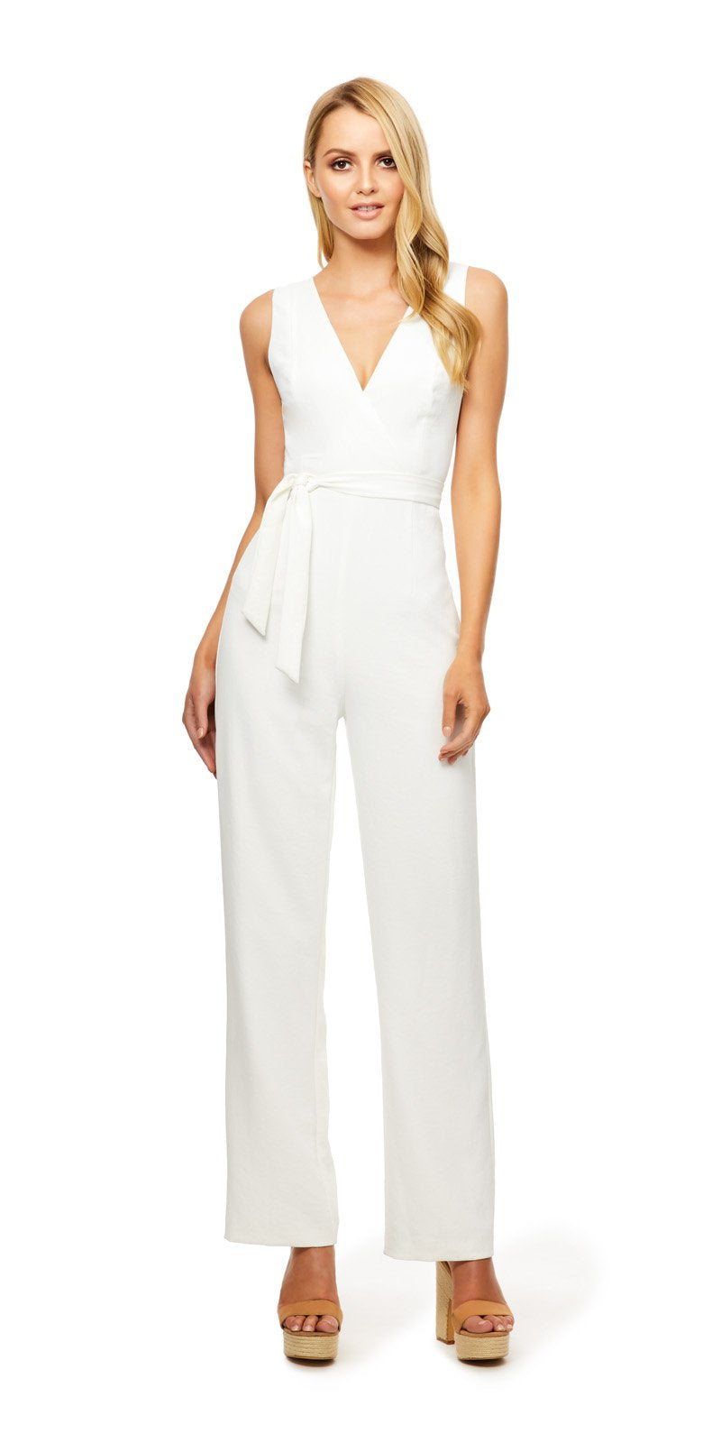 Kookai April White Jumpsuit (For Hire)