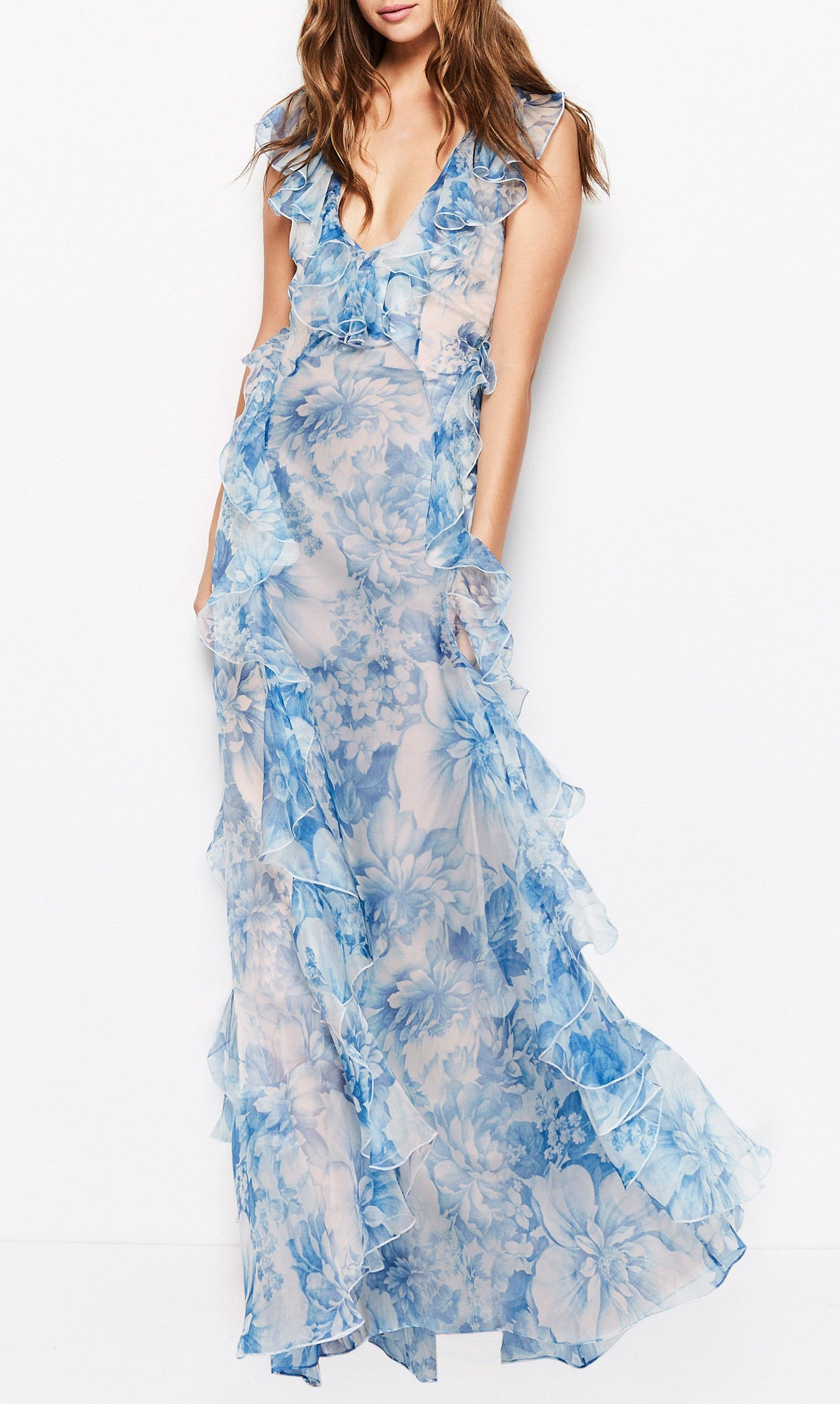 8fb312bc5b8 Alice Mccall Oh My Goodness Dress Ocean Blue Floral (Hire Only)
