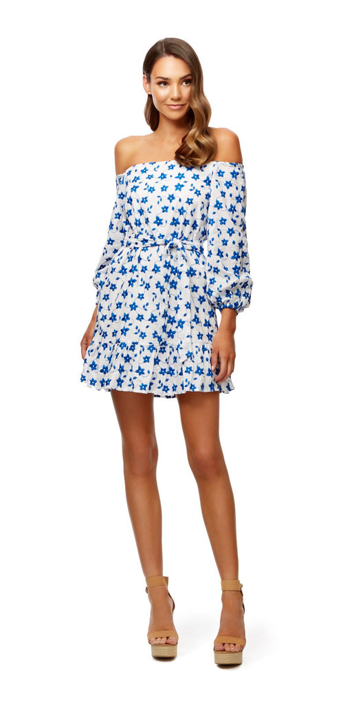 Kookai Azure Off Shoulder Dress (For Hire)