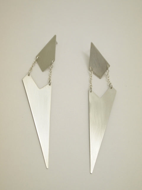 The Atelier E Sterling Silver Eon Earrings
