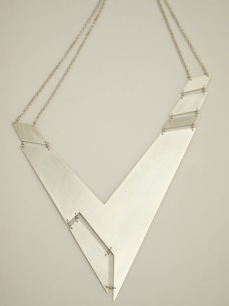 The Atelier E Sterling Silver Eon Necklace