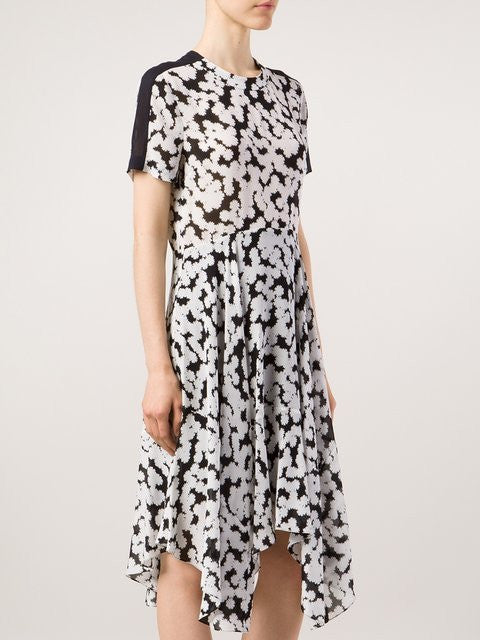 A.L.C Floral Print Asymmetric Dress