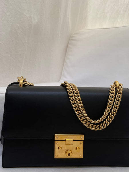 Gucci Padlock Leather Shoulder Bag