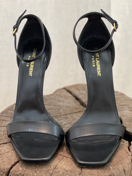 Saint Laurent Amber Sandals in Leather