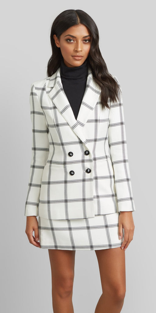 Kookaï Jameson Blazer and Skirt Set