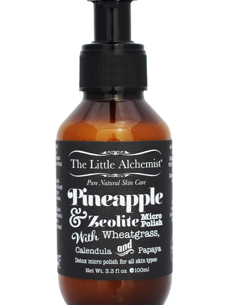 THE LITTLE ALCHEMIST PINEAPPLE & ZEOLITE MICRO POLISH