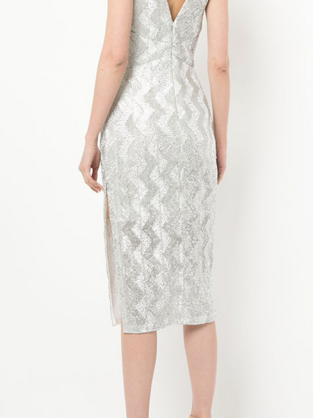 Manning Cartell Metallic Midi Dress