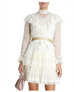 Zimmermann Glassy Frilled Lace Mini Dress (For Hire)