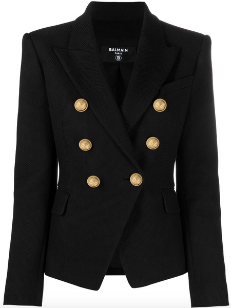 Balmain Double-Breasted Core Blazer