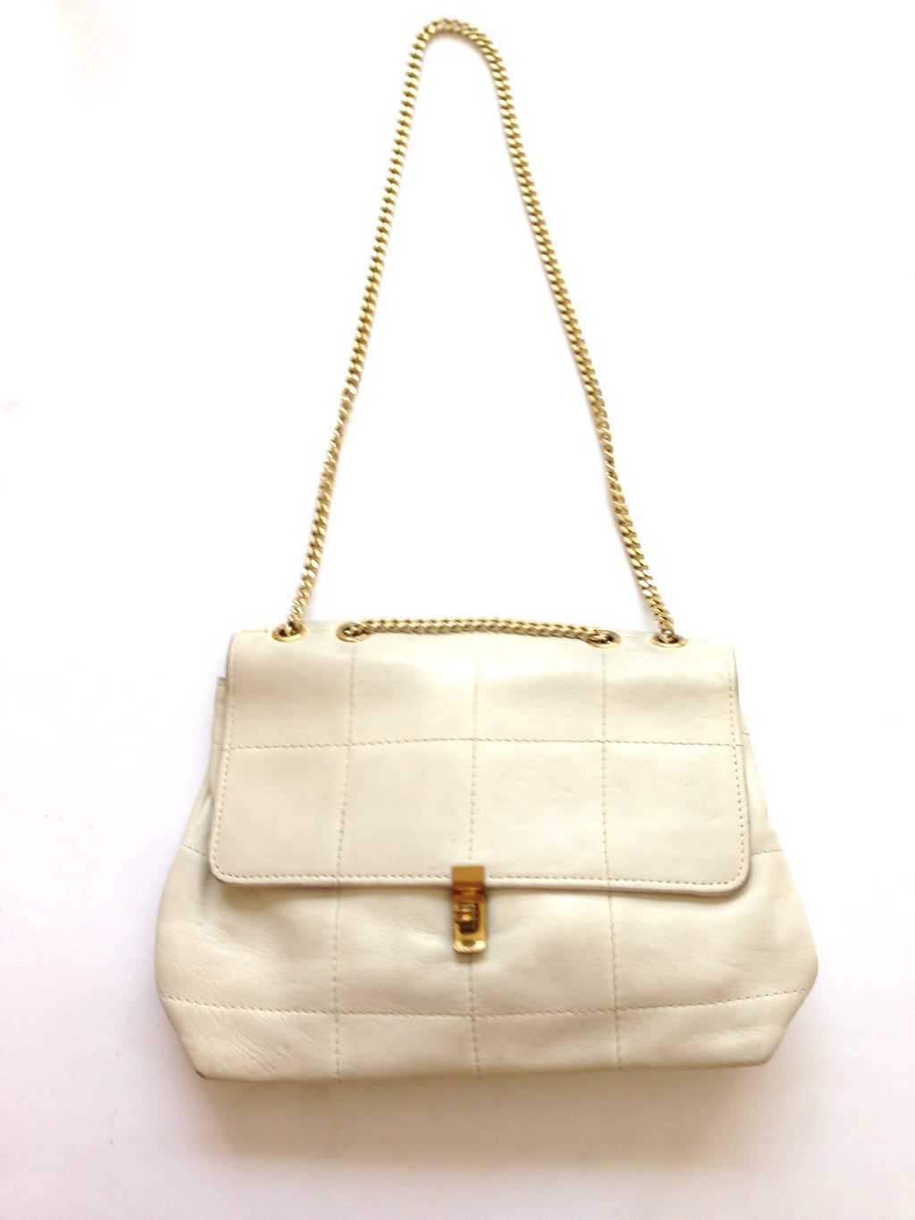 Vintage Chain Leather Bag