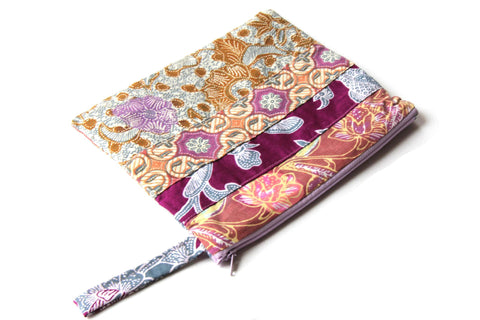 Milas Batik Beauty Case Clutch/Pencil Case