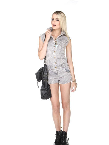 Lola Jumpsuit Grey