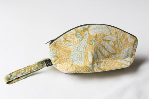 Milas Batik Beauty Case Clutch Bag