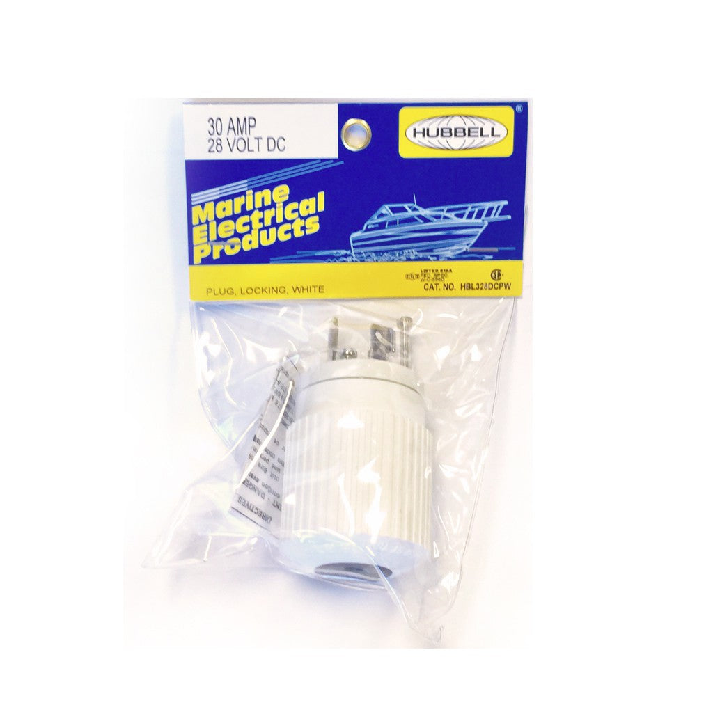 HUBBELL PLUG FOR THE SV-2400 (WHITE)