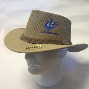 LP LOGO AUSSIE CHILLER BUSHIE PERFORATED HATS