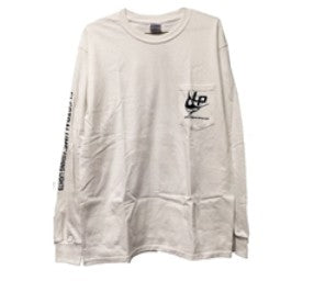 LP T-SHIRT, LONG SLEEVE - White