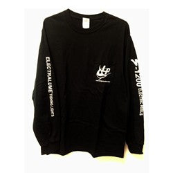 LP T-SHIRT, LONG SLEEVE - Black