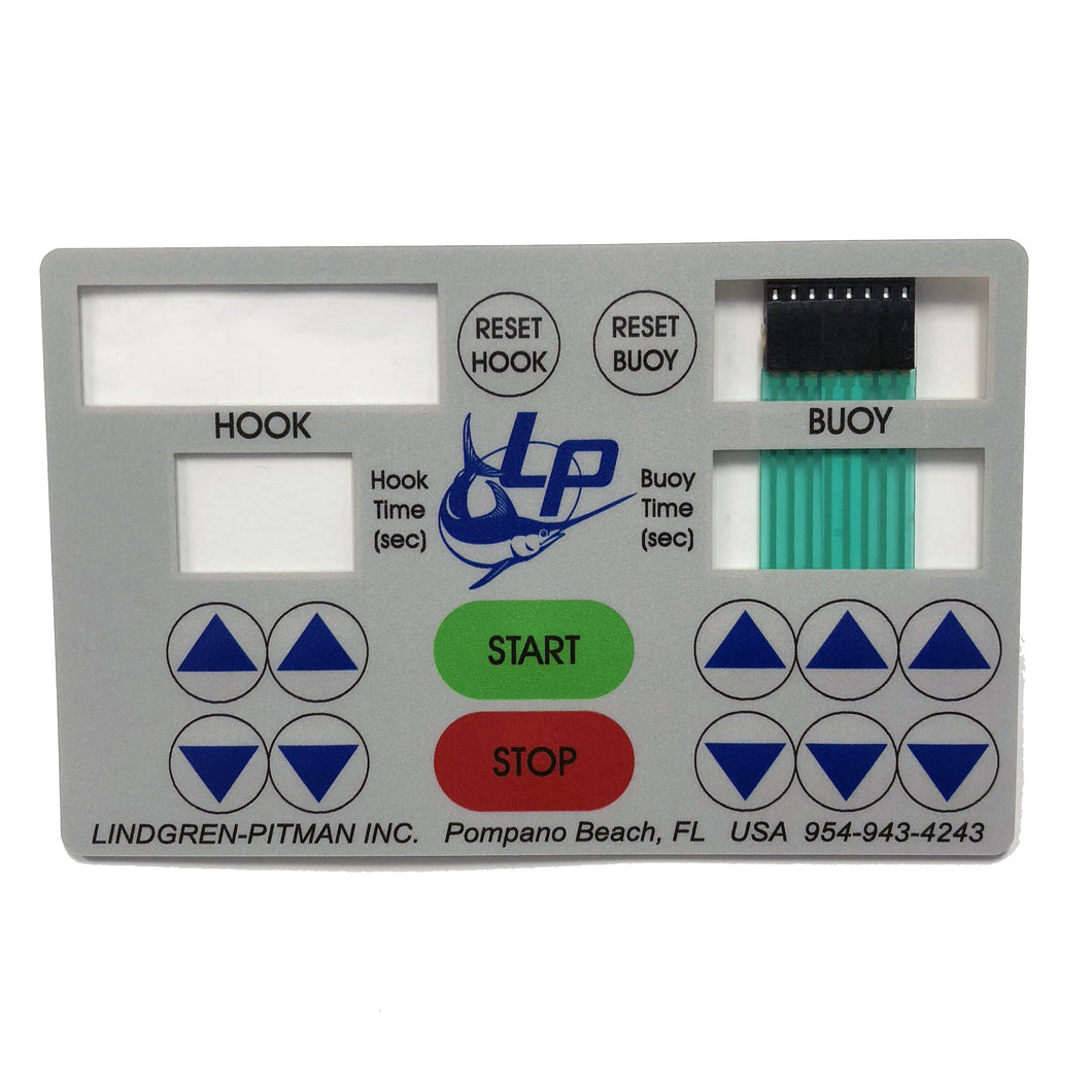 LP TIMER 3 or 2, KEYPAD / MEMBRANE SWITCH
