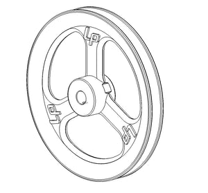 LW 10 inch Pulley 3/4 inch Bore